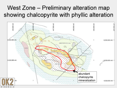 Alteration and Mineralization Map